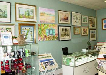 Seaside Gallery Interior